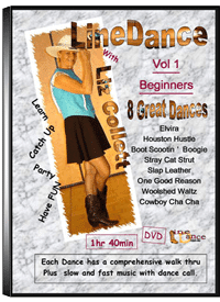 Line Dancing DVD Vol 1