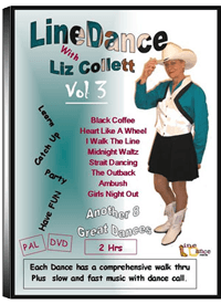 Line Dancing DVD  Vol 3